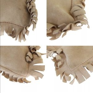 Yves Saint Laurent Bags - YVES SAINT LAURENT Tote Shoulder Bag Suede Leather